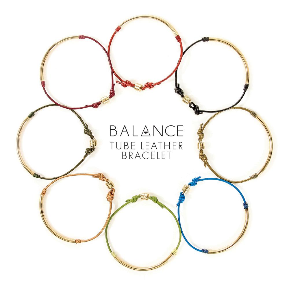 Balance-Tube-Leather-Bracelets