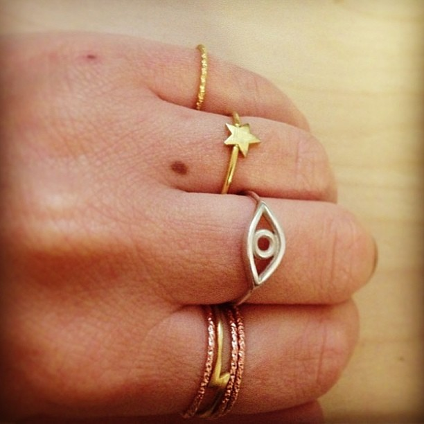 office style rings