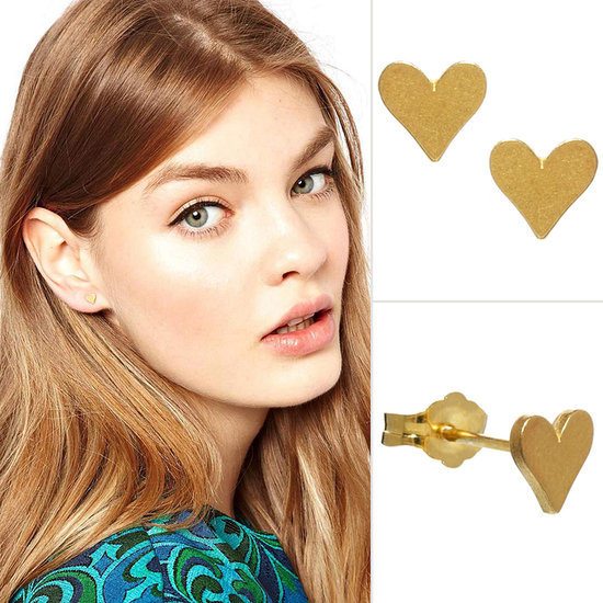 PopSugar Asos Heart Earrings