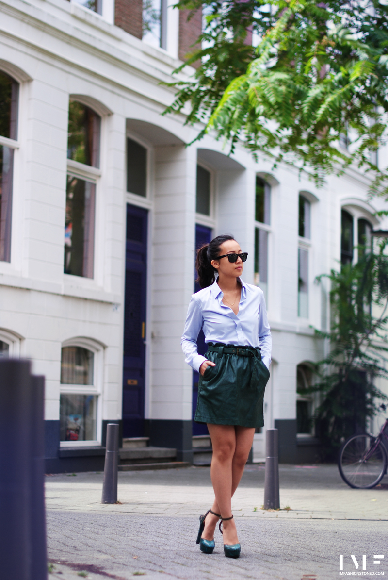imfashionstoned-fashionblog-rotterdam-leatherskirt-dogeared-necklace